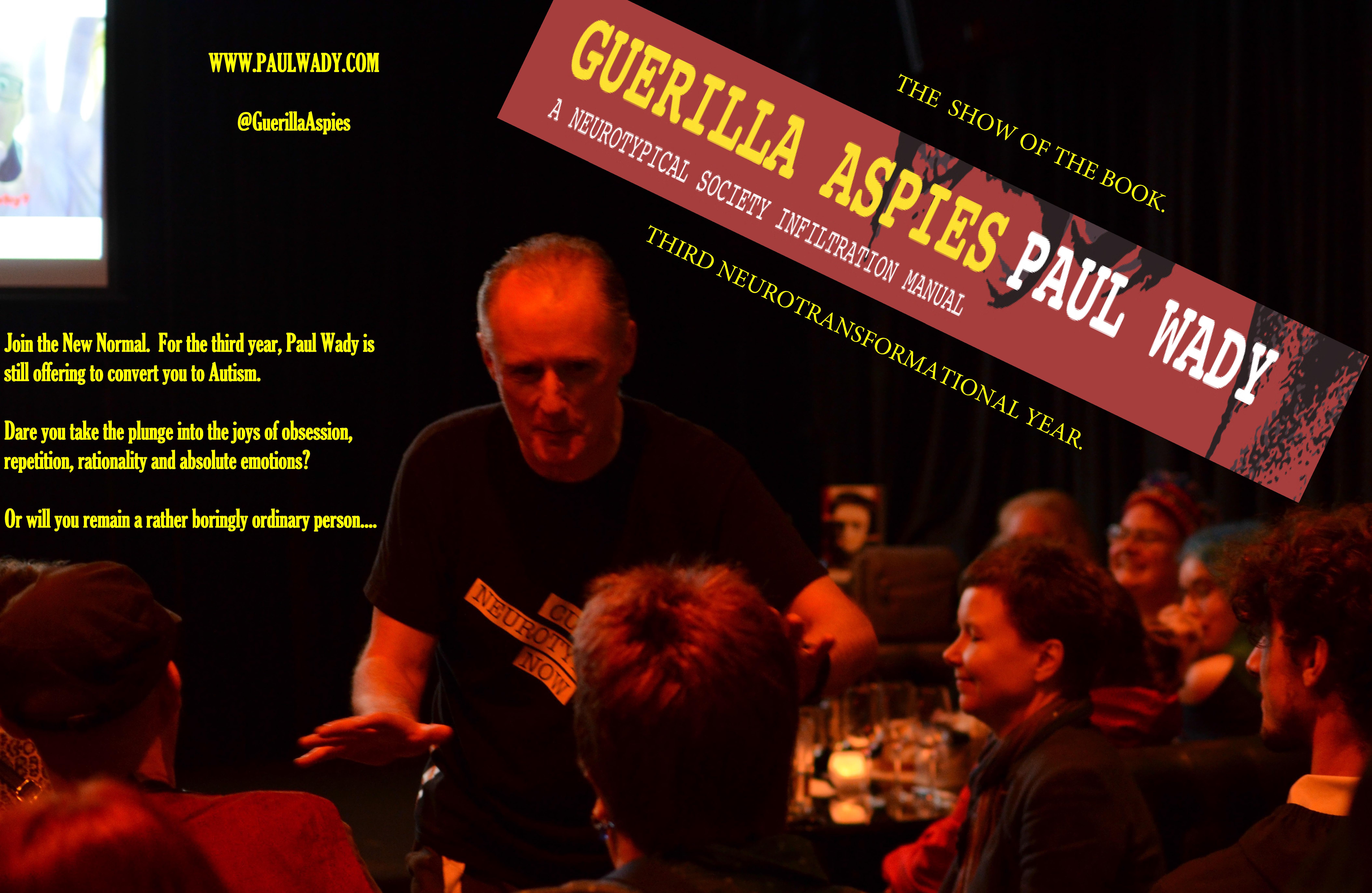 Guerilla Aspies show 2017 - One