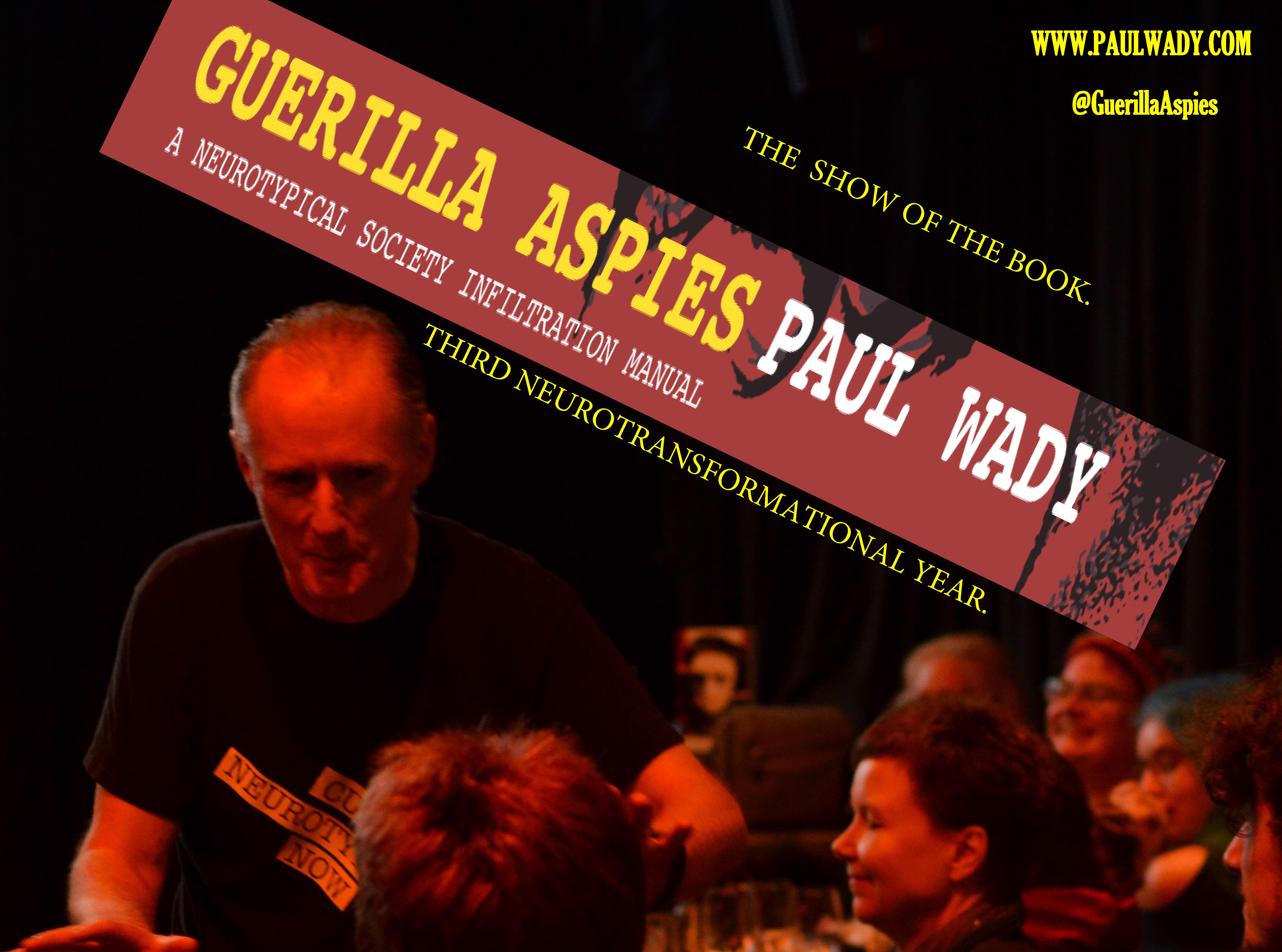 Guerilla aspies show 2017 Three